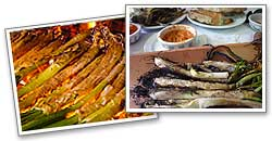 <i>Calçotades</i> (braised spring onion feasts), barbecues, etc.
