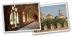 The Cistercian Route (monasteries of Santes Creus, Poblet and Vallbona de les Monges). (*) This can also be done on horseback.